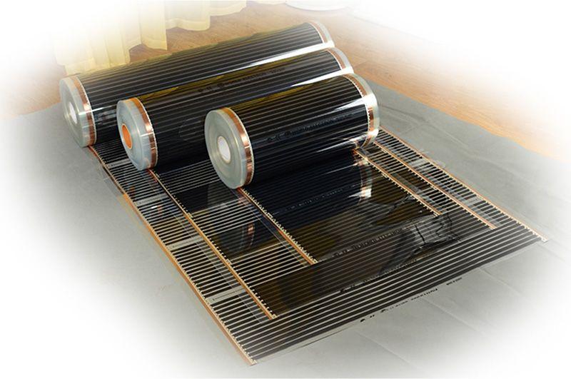 Suelo radiante por fibra de carbono