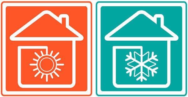 Calefaccion y refrigeracion en el suelo.
