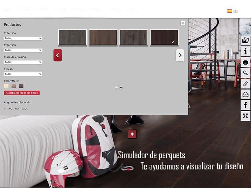 simulador de parquets para visualizar tu suelo kronopol